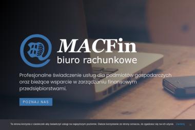 Macfin Biuro rachunkowe - Usługi finansowe Kościelisko