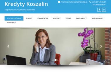 Ekspert kredytowy Koszalin Monika Makowska - Kredyt hipoteczny Koszalin