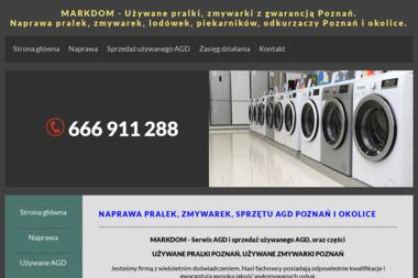 MARKDOM - Serwis i sprzedaż używanego AGD - Naprawa piekarników i kuchenek Poznań