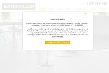 PHU MATEO-CLEAN - Sprzątanie Firm Wołów