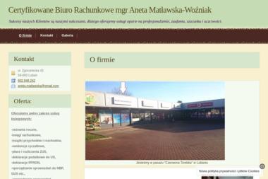 Certyfikowane Biuro Rachunkowe mgr Aneta Matławska-Woźniak - Sprawozdania Finansowe Lubań