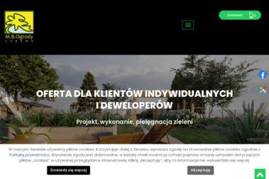 M.B. Ogrody - Planowanie Ogrodu Łubowo
