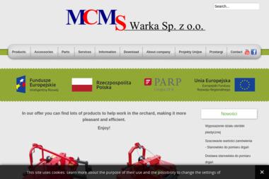 MCMS Warka Sp. z o. o. - Maszyny rolnicze Warka