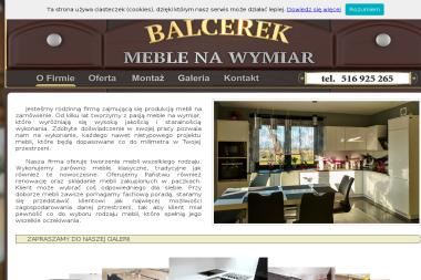 BALCEREK MEBLE NA WYMIAR - Meble Kuchenne Na Wymiar Sierpc