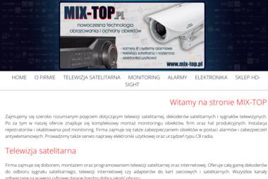 MIX-TOP - Kamery do Monitoringu Pleszew