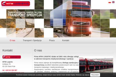 MTW Logistic - Transport Ładunków Stare Pole