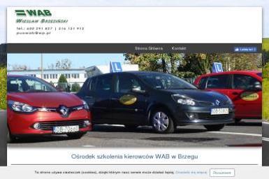 Kontakt WAB. Szkoła nauki jazdy - Szkoła Jazdy Brzeg