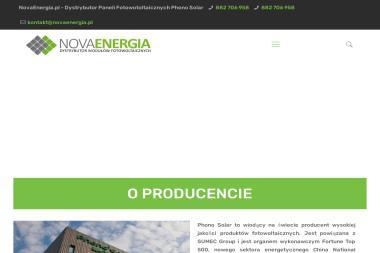 NOVA ENERGIA Sp. z o.o. - Energia odnawialna Sokołów Podlaski