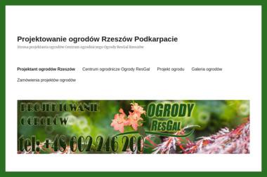 Centrum Ogrodnicze Ogrody ResGal - Projektowanie Ogrodów Zimowych Rzeszów