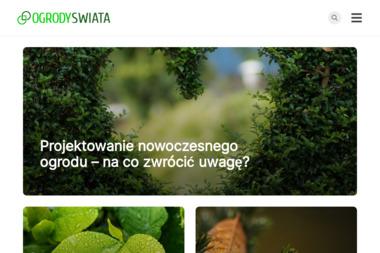 Ogrody Świata - Projektowanie ogrodów Czernichów