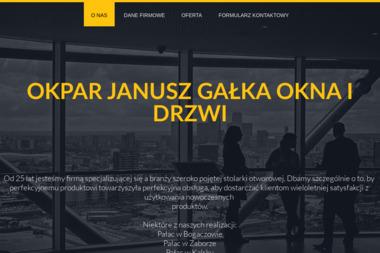 OKPAR OKNA I DRZWI - Okna drewniane Zielona Góra
