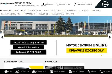 MOTOR CENTRUM - Sprzedawcy samochodów dostawczych Gdańsk