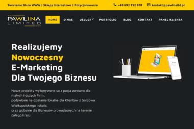 Pawlina Limited - Strona Internetowa Gorzów Wielkopolski