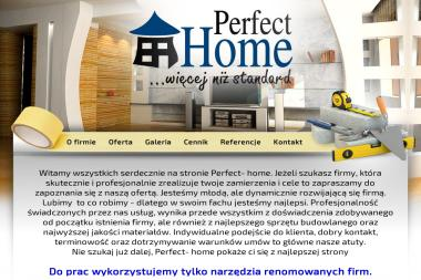 Perfect Home - Tapetowanie Łosino