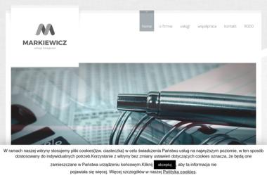 Markiewicz usługi księgowe - Usługi Księgowe Środa Śląska