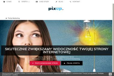 PIX UP Marketing - Strony internetowe Łęczna