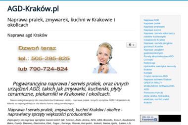 Pomoc AGD Kraków - Naprawa piekarników i kuchenek Kraków