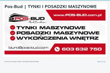"""P.U.H. """"""""POS-BUD"""""""" Dawid Sarnecki - Posadzki Bielsko-Biała"""