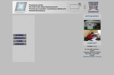 PRIMET S.A. - Okna PCV Sztum