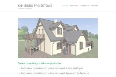 BIURO PROJEKTOWE KN+ - Adaptacja Projektu Gotowego Pokrzywno