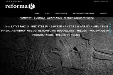 """Usługi Remontowo-Budowlane """"""""REFORMA"""""""" - Murarz Ścian Mielec"""