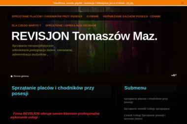 REVISJON - Firma Odśnieżająca Dachy Tomaszów Mazowiecki