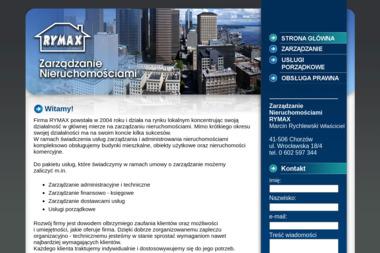 Zarządzanie Nieruchomościami RYMAX - Sprzątanie biur Chorzów