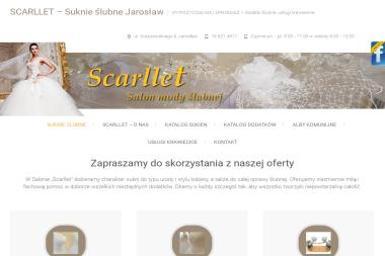 Scarllet - Salon Mody Ślubnej - Rzemiosło Jarosław