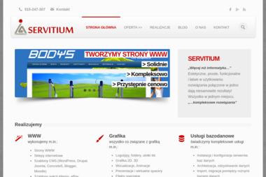SERVITIUM - Strony internetowe Łańcut