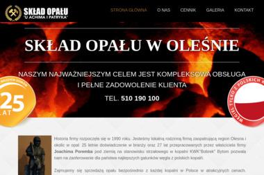 Usługi Transportowe Poremba Joachim - Ekogroszek Olesno
