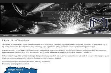 FIRMA USŁUGOWA MILAN - Sprzedaż Ogrodzenie Metalowych Pilchowo