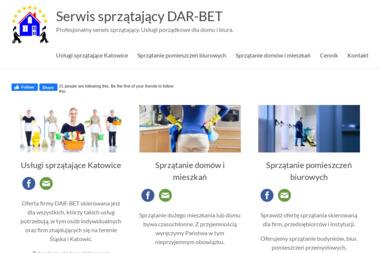 Usługi sprzątające DAR-BET PLUS - Sprzątanie biur Siemianowice Śląskie
