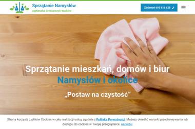 Sprzątanie Namysłów Agnieszka Smolarczyk-Walków - Sprzątanie Namysłów