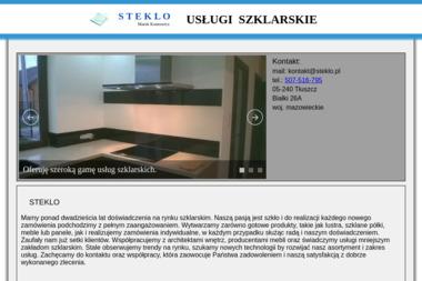 Steklo Marek Kontowicz - Szklarz Tłuszcz