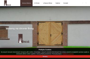 Zakład Stolarski Krzysztof Oleszczak - Drzwi Biłgoraj