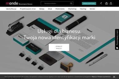 Monde Business Store - Identyfikacja wizualna Bydgoszcz