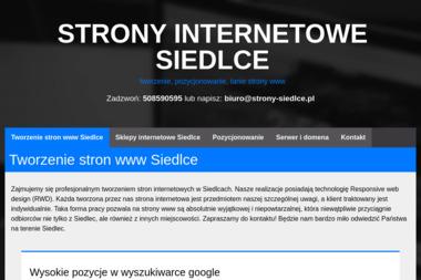 Strony Internetowe Siedlce - Agencja interaktywna Siedlce