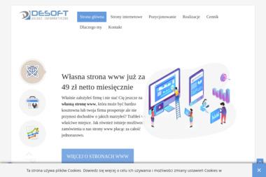 DeSoft - Strona Internetowa Racibórz