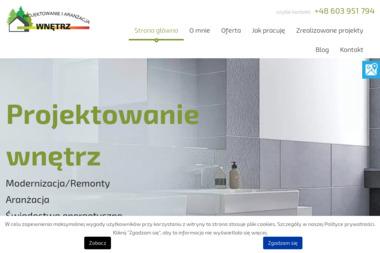 Projektowanie i Aranżacja Wnętrz Małgorzata Szepelowska - Architekt wnętrz DOPIEWO