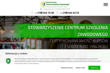 """Stowarzyszenie """"Centrum Szkolenia Zawodowego"""" w Gorlicach - Szkolenia Nowy Sącz"""