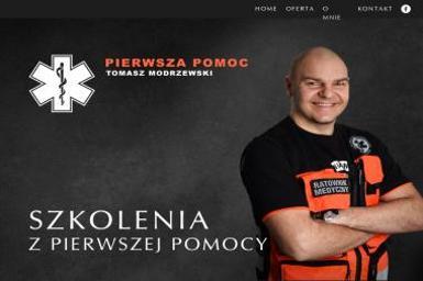 Pierwsza Pomoc - Tomasz Modrzewski - Szkolenia Brodnica
