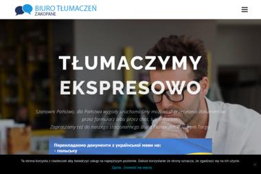 BIURO TŁUMACZEŃ Languagehouse - Tłumacz Języka Angielskiego Zakopane