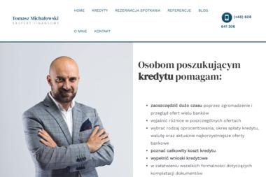 Tomasz Michałowski - Doradca Finansowy - Kredyt konsolidacyjny Bydgoszcz