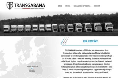 TRANSGABANA International Transport - Transport międzynarodowy Grodzisk Wielkopolski