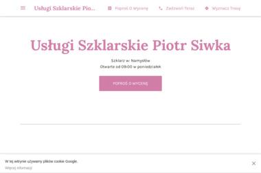 Usługi Szklarskie Piotr Siwka - Wyposażenie wnętrz Namysłów