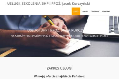 USŁUGI SZKOLENIA BHP i P.POŻ. Jacek Kurczyński - Firma audytorska Świdnica