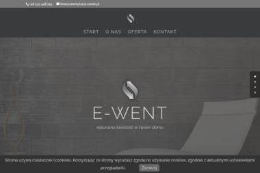 Firma Handlowo-Usługowa E-WENT - Rekuperacja Sanok