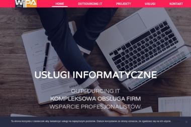 WIPA Usługi Informatyczne - Strony internetowe Łańcut