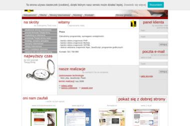 1st Janusz Szczepański - Strony internetowe Chojnice