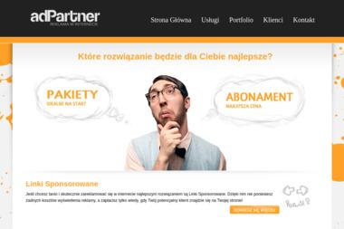 adPartner - Strony internetowe Dąbrowa Górnicza